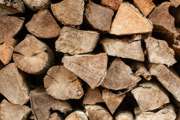 wood texture from firewood